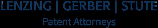 Patentanwälte LENZING | GERBER | STUTE - Logo